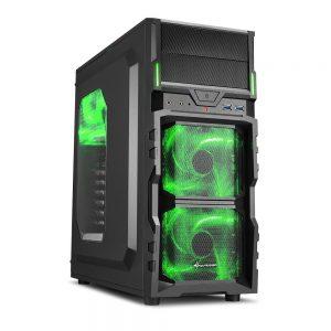 PC Gehäuse grün